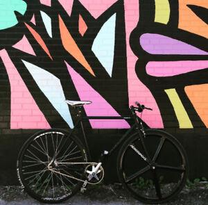 Vélo fixed gear cinelli gazzetta 2017
