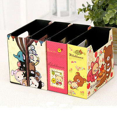 Cute Makeup Cosmetic Stationery DIY Paper Board Storage Desk Organizer Box - Diy Desk Organizer
