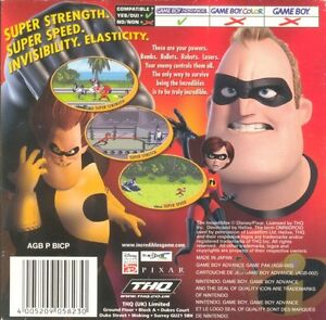 The Incredibles (2004, Game Boy Advance) West Island Greater Montréal image 3