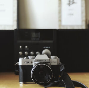 Fujifilm TX-20 with Standard lens and meike 35mm
