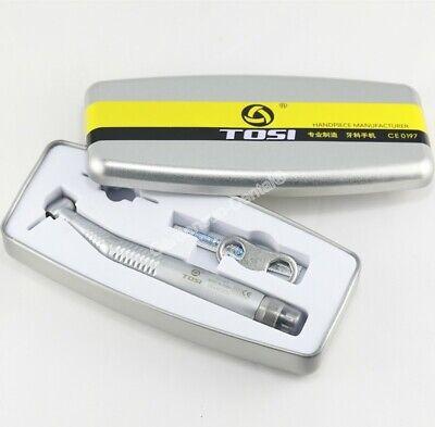 Tosi 164a Dental High Speed E-generator Fiber Optic Self Power Handpiece 4-hole