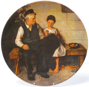 "Norman Rockwell ""The Lighthouse Keeper's Daughter"" Plate"