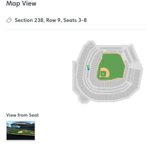 Toronto Blue Jays @ Seattle - August 4th and 5th - 6 tickets!!!