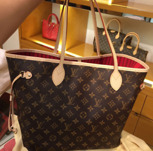 Brown Neverfull Louis Vuitton Purse