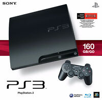 Excellent PS3 Slim 160gb, with controller and multiple games!