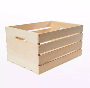WANTED: Wooden Crate