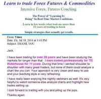 Make $3000-$5000+ - Learn to Trade Forex, Futures & Commodities