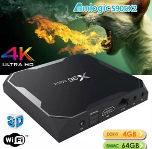 WORLDS FIRST Amlogic S905X2 Android 8.1 TV Box->>4GB DDR4 Ram!