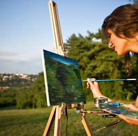 Painting Outdoors with Susan Woolgar