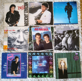 Pop 80s Vinyl Mixed Collection Bundle - Bethnal Green E2