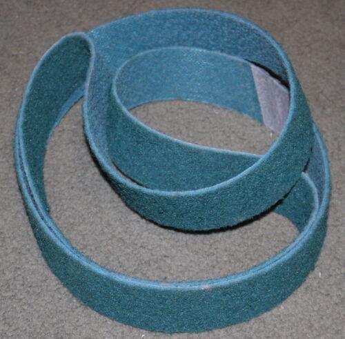 """2""""x 72"""" Surface Conditioning Belt  Blue Very Fine Grade (1 Belt)"""