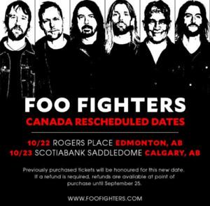 Foo Fighters Tickets Oct 22