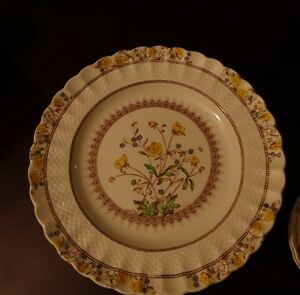 "Mid Century Copeland Spode Fine China ""Buttercup"""