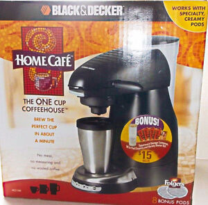 Black & Decker - Home Cafe - ONE Cup Coffee House Kitchener / Waterloo Kitchener Area image 1
