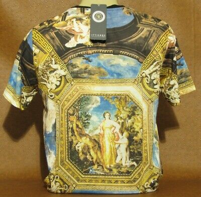 Brand New With Tags Men's VERSACE T-SHIRT Slim Fit Size M- L- XL- 2XL