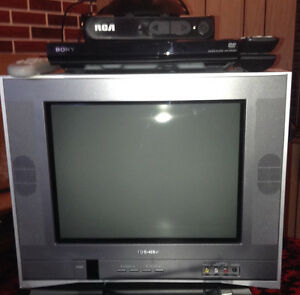 Tv with accessories