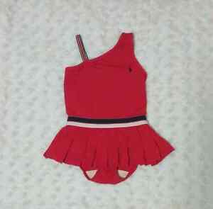 Toddler swimsuit by Ralph Lauren red