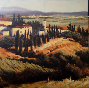 Reproduction of Italian landscape