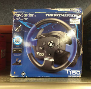 PS4 & PS3 Thrustmaster T150 Racing Wheel @ Waterdown Retail