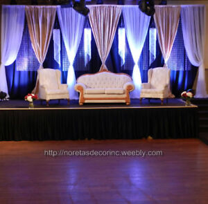 One Stop Weddings Events Decoration Service Calgary Backdrops