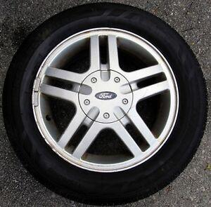 """Ford Focus 15"""" Aluminum Rims and tires"""