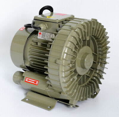 550w High Pressure Vortex Vacuum Pump 220v 100m3h Electric Air Blower Fan