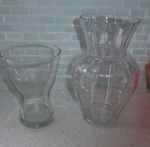 Various smaller clear glass vases $ 1 - $ 3 ea Kitchener / Waterloo Kitchener Area image 4