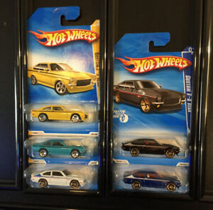 LB026 Hot Wheels Only Chevrolet Chevy Chev Vega 5 Car Collection