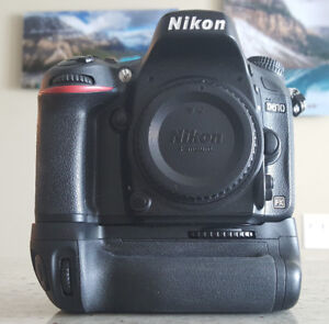 "Nikon D610 with battery grip (""NEW LOWER PRICE"")"
