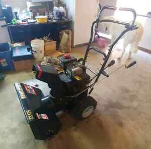 22 inch Craftsman 2 stage snowblower. Like new. Barely used.