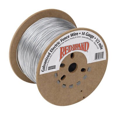 Red Brand Electric Electric Fence Wire 12 Mi.