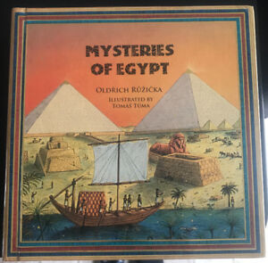 **MYSTERIES OF EGYPT KIDS BOOK FOR SALE**