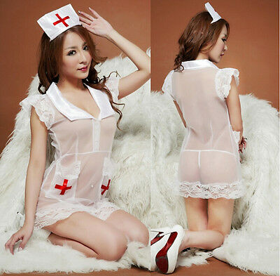Sexy Erwachsene Frauen Krankenschwester Kostüm Cosplay Halloween Outfit - Krankenschwester Halloween Outfits