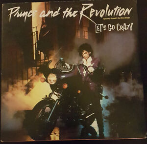 Prince and the Revolution - Let's go Crazy - Vinyl Record
