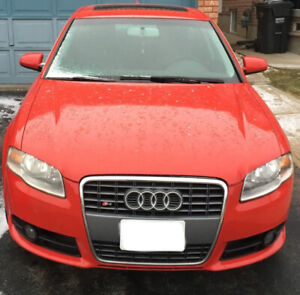 2008 Audi A4 2.0T S Line 160km $5,000 As Is