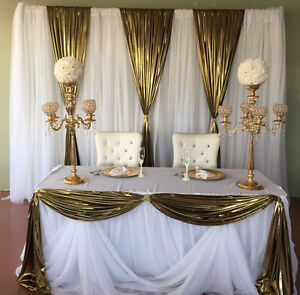 Backdrops for parties and weddings