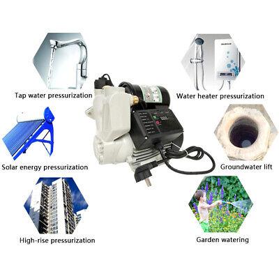 220v Self-priming Pump Automatic Pressure Control Digital Display Hotcold Water