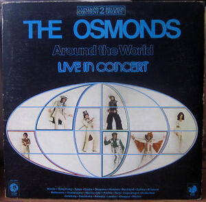 The OSMONDS Vinyl Record Album - 1975 LIVE - 2 LP Set