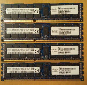16GB sticks - 2Rx4 PC3-14900R Registered ECC - server RAM