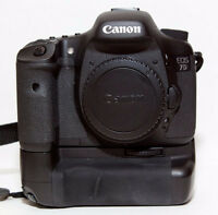 Canon 7D DSLR Camera Multi-Power Vertical Battery Grip 7D Mark 1