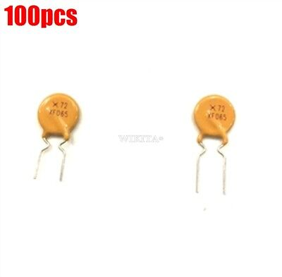 100pcs Polyswitch Polyfuse Resettable Fuse 0.65a 72v 650ma Poly Switch New Ic Ea