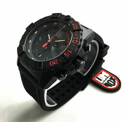 Men's Luminox Navy SEAL Chronograph Diver's 45mm Watch 3581.EY