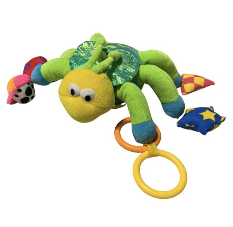 Lamaze Baby Activity Toy Developmental Rattle Crinkle Ladybug ? Machine Washable