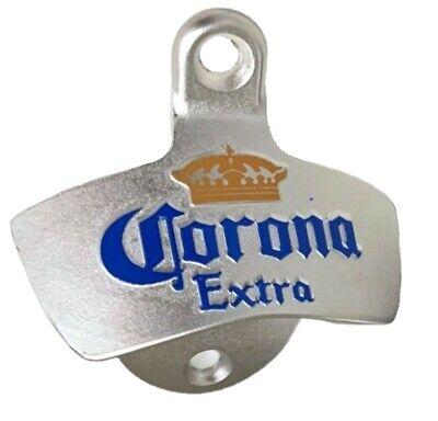 Corona Extra Cerveza Abrebotellas de Pared Montaje Ee.uu. Abridor Botellas Gk