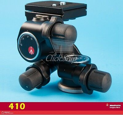 Manfrotto 410 Junior Geared Head - Supports 11 lbs (5kg)  Mfr # 410