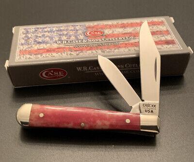 CASE XX 10 DOT 1980 6225 1/2 SR COKE BOTTLE POCKET KNIFE UNUSED NEAR MINT