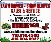 Mobiletec Small Engines Snowblower Lawnmower Repair 416-676-4560