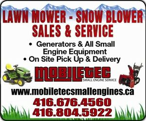 Mobiletec Small Engines Lawnmower Snowblower Repair