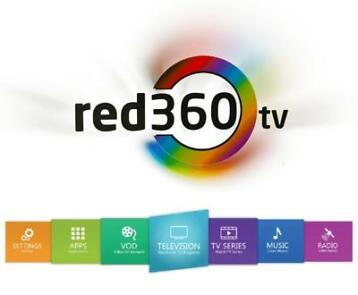 Red 360 Mega V3 (nieuwe editie) red360 set-top-box