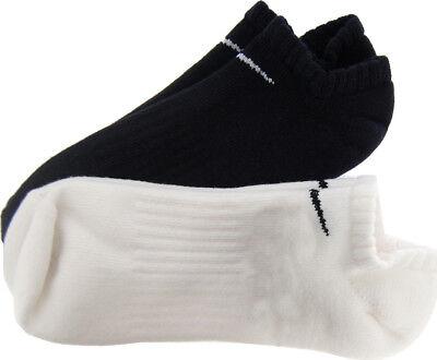 2 X Nike Gepolstert No Show Training Runing Fitnessstudio Socken 2 Paar Pack (Gepolsterte Socken No-show)